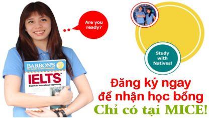 Hoc bong du hoc tieng Anh tai Phi MICE