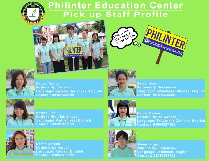 Thông tin đón học viên của Trường Philinter
