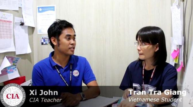 Cảm nhận từ chị Trần Trà Giang, học viên IELTS tại CIA