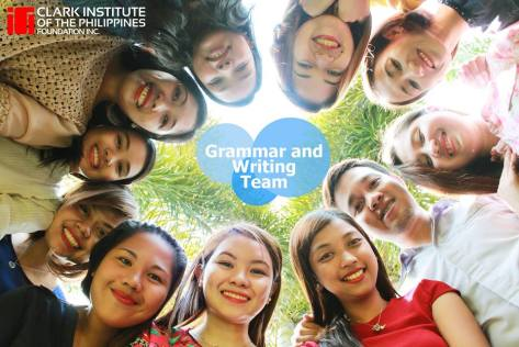 CIP Grammar and Writing Team
