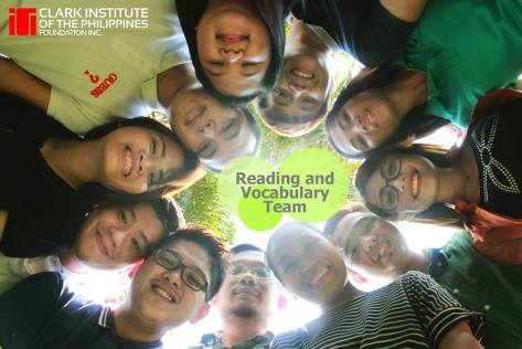 CIP Reading and Vocabulary team