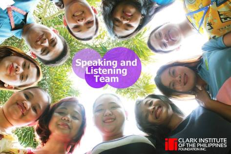 CIP Speaking and Listening team
