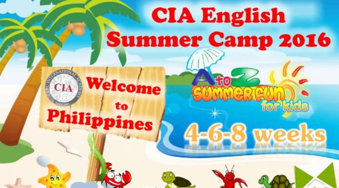 CIA English Summer Camp 2016: trại hè tiếng Anh tại Philippines