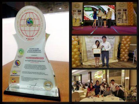 Philinter best education Award 2015