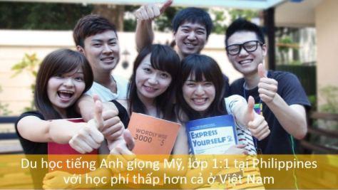 MICE hoc tieng anh tai philippines