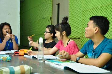 Phan Van Tam at CIA IELTS 12 weeks