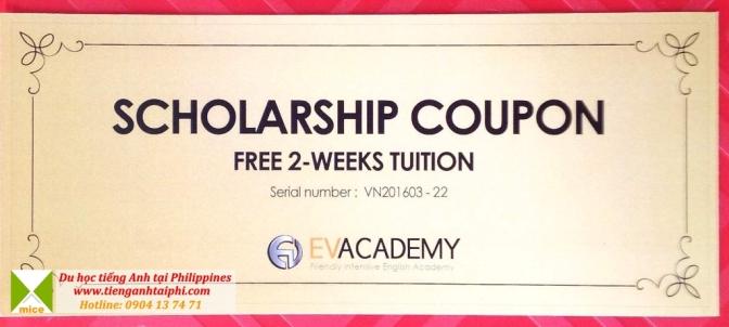 Coupon ưu đãi 2 tuần học phí từ 11 trường tại Cebu