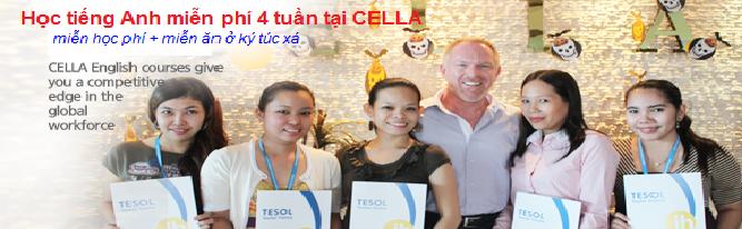 Du học tiếng Anh 4 tuần miễn phí cùng Trường CELLA, Cebu