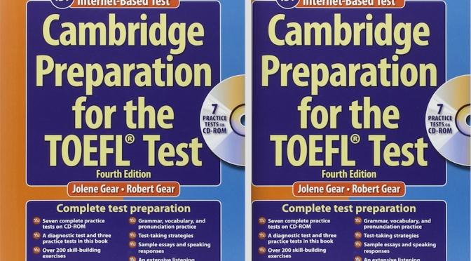 Giới thiệu Ebook Cambridge Preparation for the TOEFL® Test