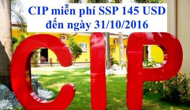 Trường CIP: Miễn phí ssp 145 usd cho học viên Việt Nam