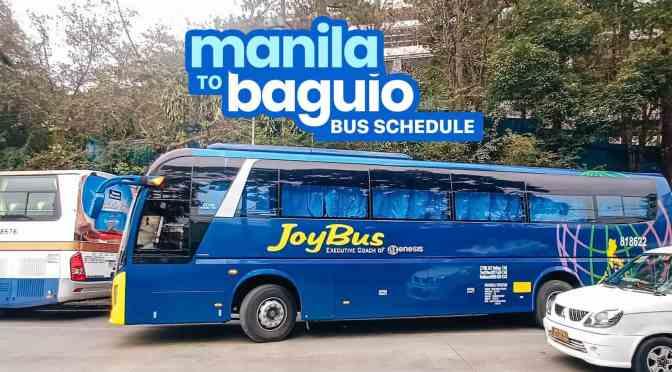 Cách học viên tự đi đến trường nếu học tại thành phố Baguio, Philippines (cập nhật 2019)