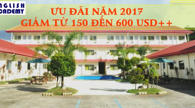 Trường C2 UBEC: ưu đãi giảm từ 150 đến 600 USD++ đầu năm 2017