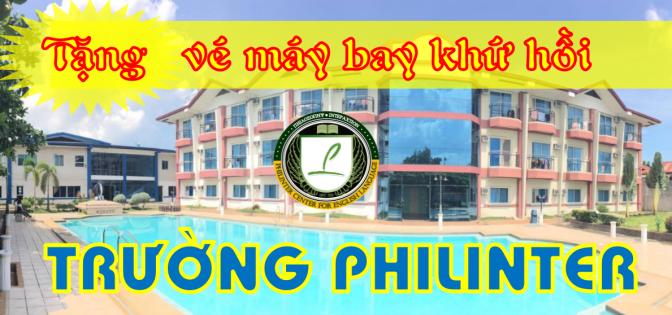 Trường Philinter: ưu đãi tặng vé máy bay khứ hồi 350 USD