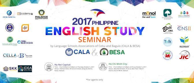 Hội thảo du học tiếng Anh tại Philippines dành cho đại diện tuyển sinh uy tín