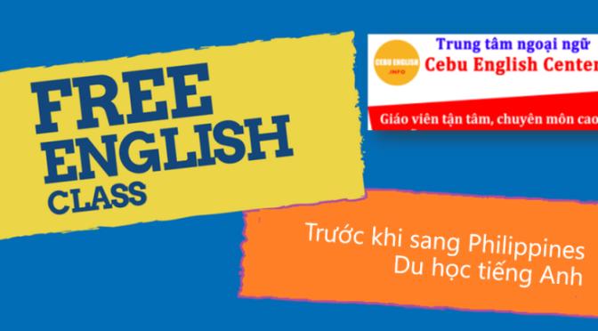 Duy nhất tại MICE: Học miễn phí tại Cebu English Center trước khi du học tiếng Anh tại Philippines