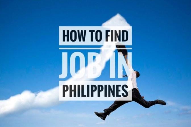 Hướng dẫn tìm việc làm ở Philippines