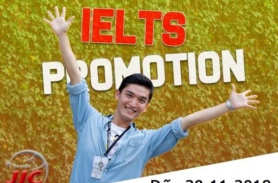 Trường JIC: Học bổng ưu đãi hấp dẫn đến cuối 2018 khóa IELTS và giao tiếp ESL
