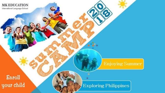 Trại hè tiếng Anh Philippines English Summer Camp 2018 Trường MK – Iloilo