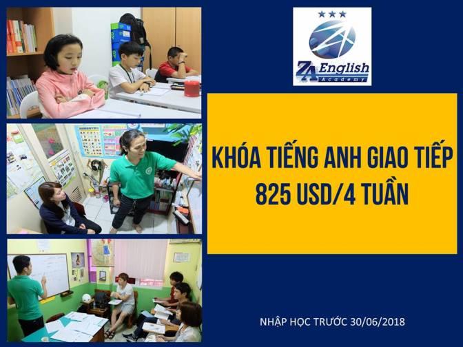 Trường ZA English: ưu đãi giảm 440 USD/ 4 tuần mừng cơ sở mới ZA Mabolo