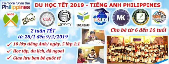 Du học Tết Nguyên Đán 2019 tại Philippines cho bé 6 -16 tuổi