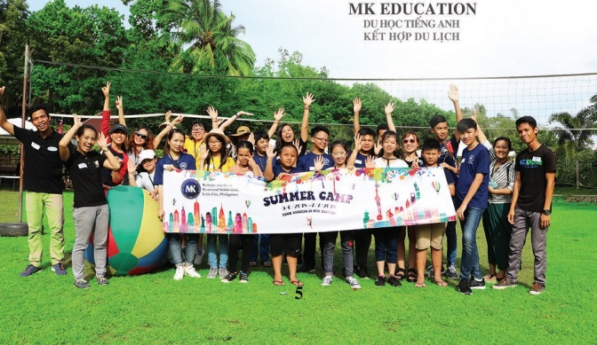 Trại hè tiếng Anh Philippines English Summer Camp 2019 Trường MK – Iloilo