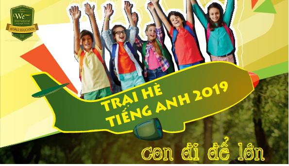 Trại hè tiếng Anh English Summer Camp 2019 Trường WE – Philippines