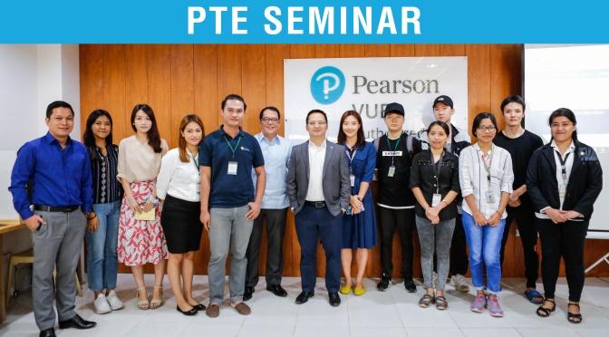 Hội thảo PTE – Academic đầu tiên được thực hiện tại trường SMEAG