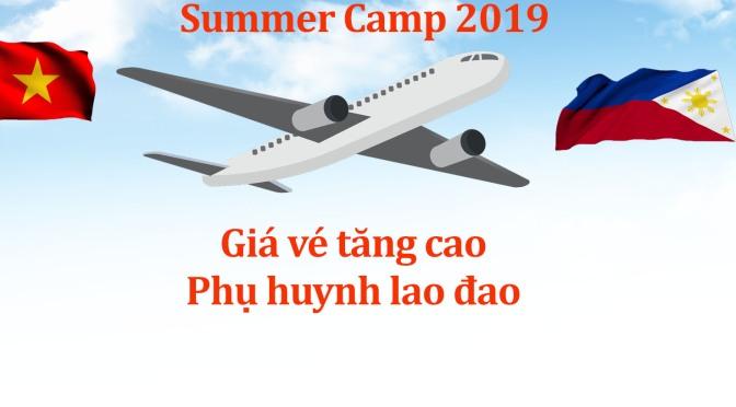 Học bổng ưu đãi cuối cùng cho các bé tham gia trại hè 2019 tại Philippines