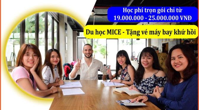 Du học tiếng Anh tại Philippines: MICE tặng thêm vé máy bay khứ hồi++