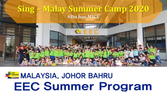 Trại hè English Summer Camp 2020 tại Singapore và Malaysia siêu tiết kiệm