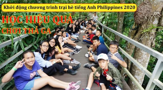 Tại sao nên cho con đi học hè tiếng Anh 2020 tại Philippines