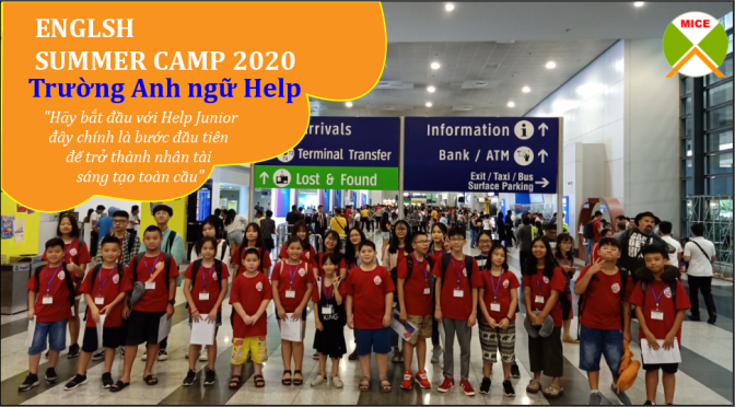 Trại hè Philippines 2020- English Summer Camp – Trường Anh ngữ HELP Clark & Baguio