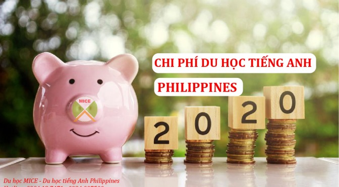 chi phi du học tieng anh philippines