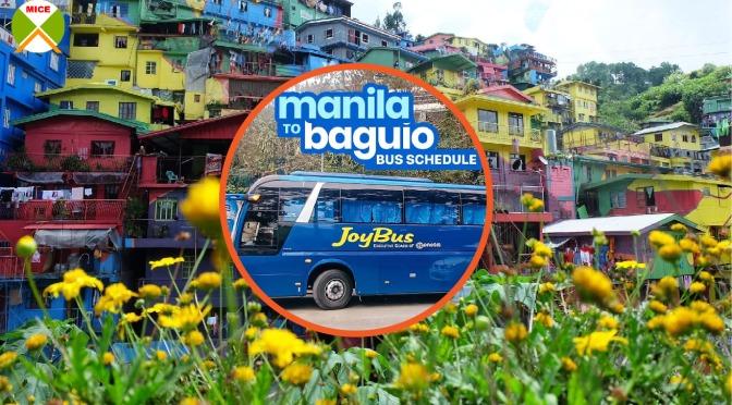 Cách học viên tự di chuyển từ Manila đến Baguio, Philippines 2020