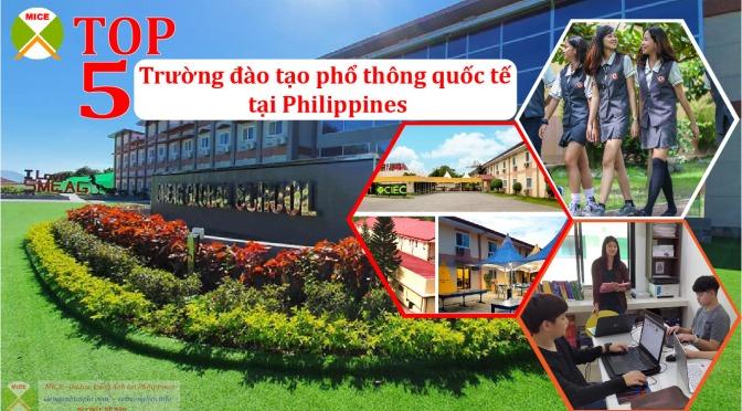 TOP 5 trường đào tạo phổ thông quốc tế tại Philippines