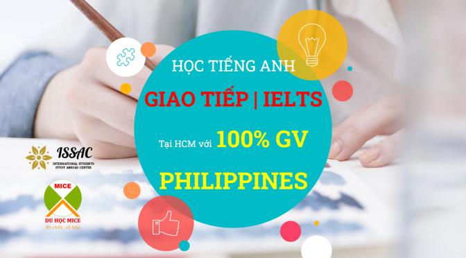 MICE mở khóa học tiếng Anh 100% với giáo viên Philippines tại TP. HCM